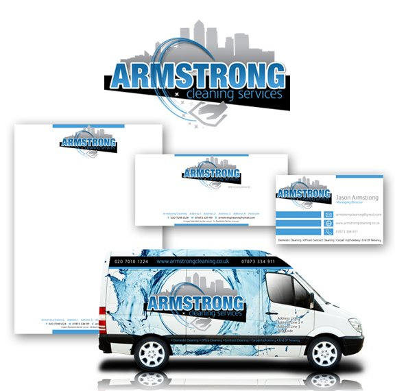 Armstrong Cleaning Branding