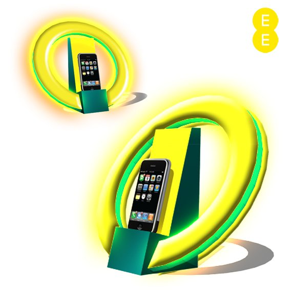 EE Mobile Phone Display