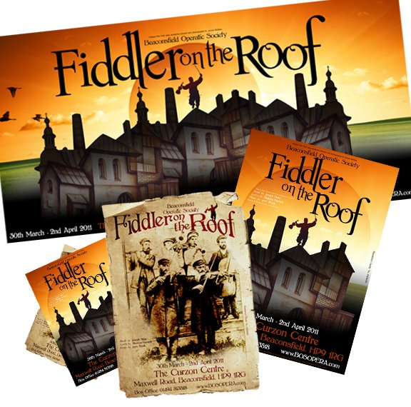 Fiddler Posters/Banners/Direct Mail