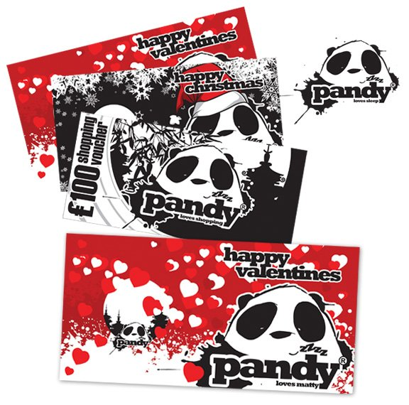Pandy Greetings Cards