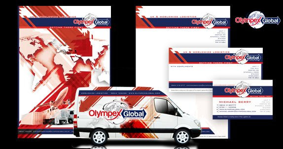 Olympex Global Stationery Designs
